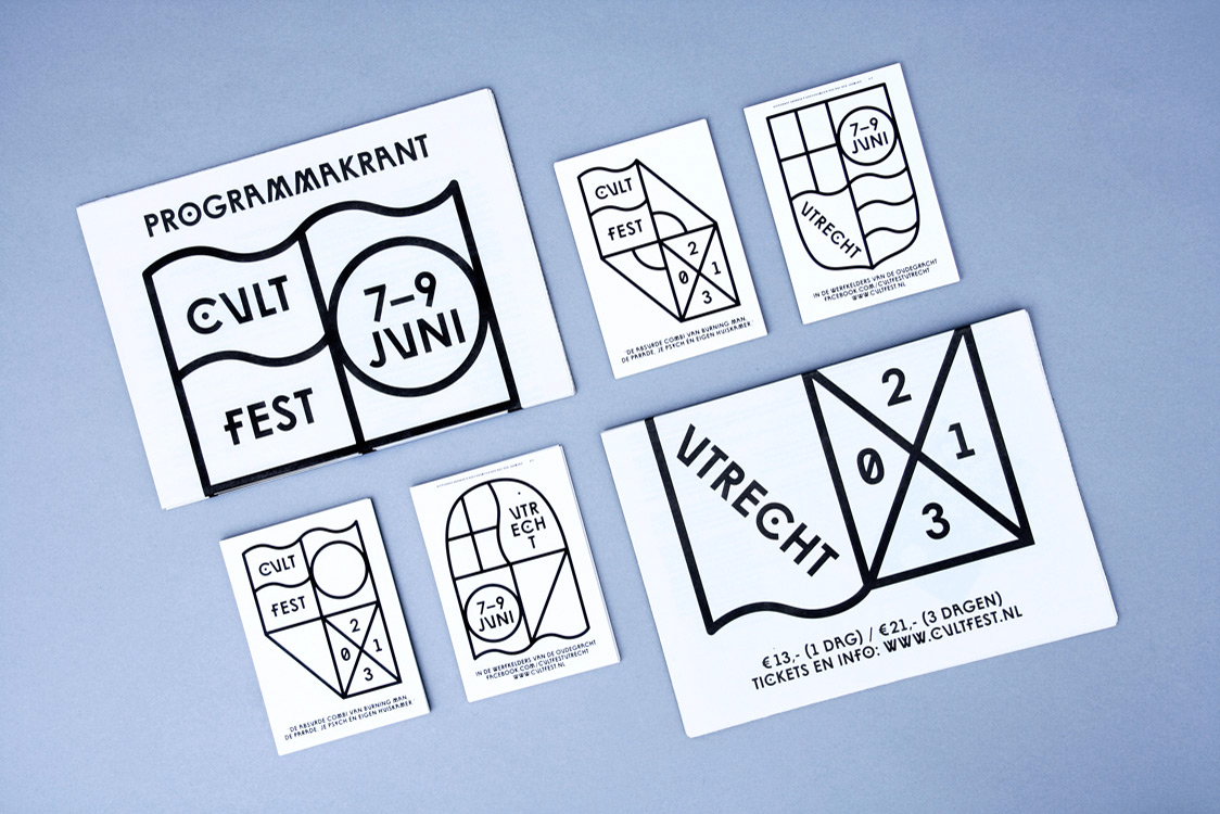 Cultfest identity, 2013 — icw Barbara Hennequin